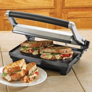 Breville BSG520XL Panini Duo 1500-Watt Nonstick Panini Press
