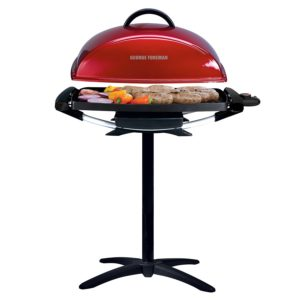 George Foreman 12-Serving Outdoor Rectangular Electric Grill