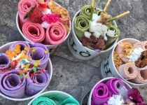 what is rolled ice cream homemade