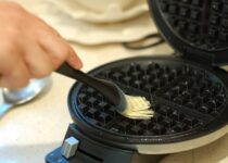 how to grease your waffle maker