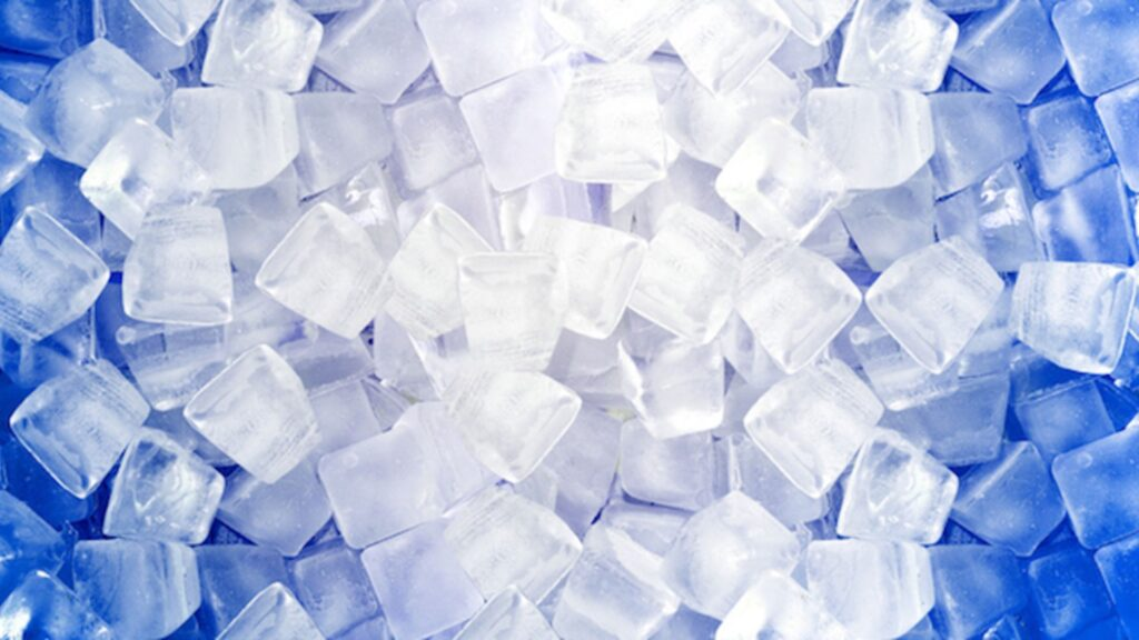 how to make ice cubes without tray