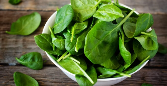 how to store spinach