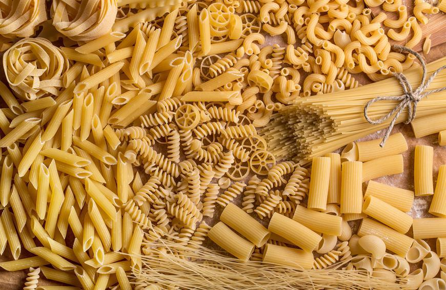 types of pasta shapes