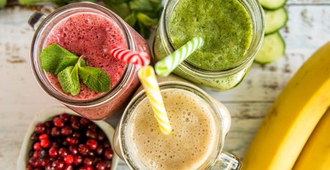 dinner time smoothies