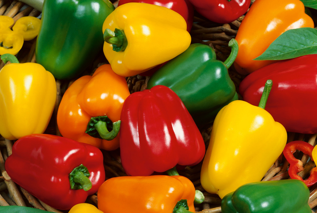 multi color bell-peppers image